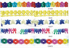 3m Multicolor Tissue Paper Garland Craft Decorations For Celebration Events