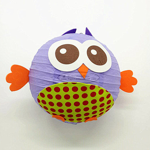 DIY Cartoon Fish Colorful Handmade Hanging Paper Lantern