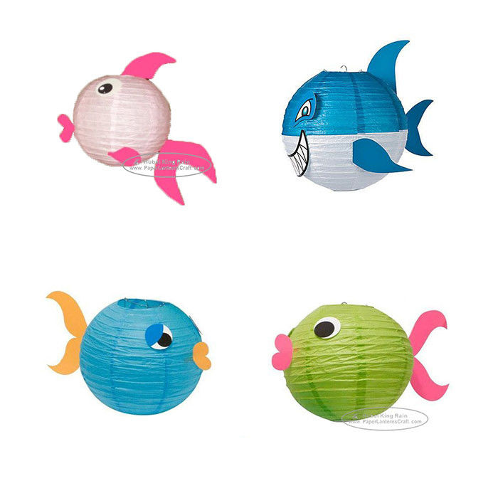 Fish Lantern Animal Paper Lantern For Children Toys Hanging
